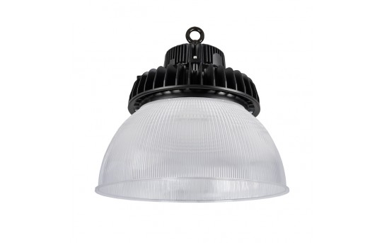 100W UFO LED High Bay Light w/ Reflector - 13,000 Lumens - 250W Metal Halide Equivalent - 5000K - HBUD-50K100W-x