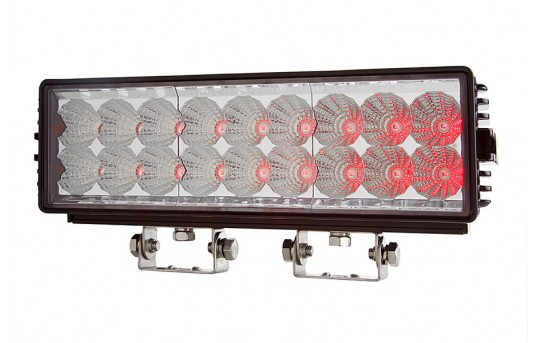 """11"""" Off-Road Infrared LED Light Bar - 18W - LBIR-850-35"""
