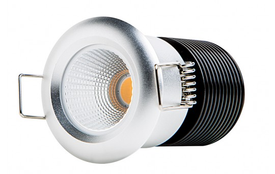 8 Watt COB LED Recessed Light Fixture - Bridgelux COB - 40 Watt Equivalent - 425 Lumens - RLF-x8W-80