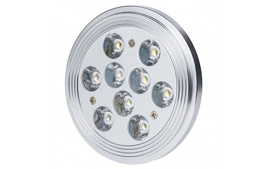 AR111 LED Bulb - 45 Watt Equivalent - Bi-Pin LED Spotlight Bulb - 440 Lumens - AR111-xW9W-60-HH