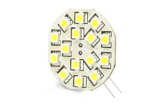 G4 LED Bulb - 2 Watt (25 Watt Equivalent) Bi-Pin LED Disc - Warm White