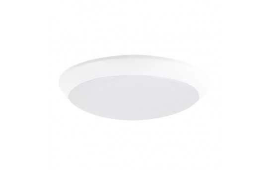 "5-1/2"" Flush Mount LED Ceiling Light - 60 Watt Equivalent - Dimmable LED Disk Light - Junction Box Mount - 760 Lumens - SM4D-x10"