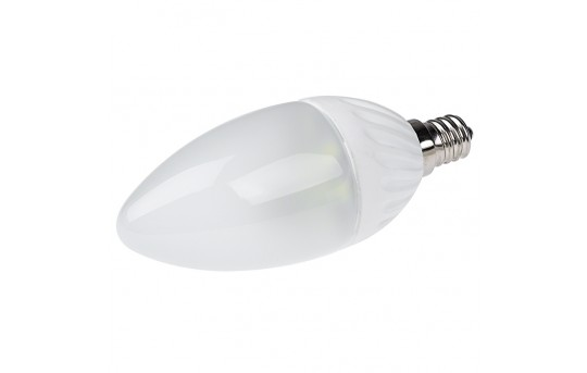 Candelabra LED Bulb - Blunt Tip Candle Shape - 170 Lumens - E12-xHP10-C37