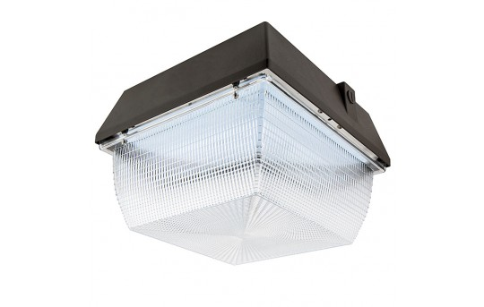 LED Canopy Light and Parking Garage Light - 100W - 4000K - 175W MH Equivalent - 9,000 Lumens - LS-CP100W