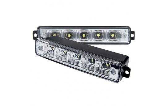 High Power Top Mounted LED Daytime Running Light Kit - DRL-CW5-BM