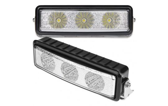 LED Daytime Running Light Set - Bottom Mount, 3W - DRL-CW3-BM2