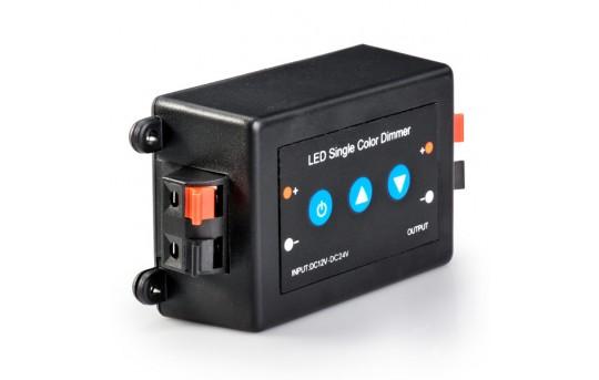 LDB-8A 12~24 Volt DC Single Color LED Push Button Dimmer - LDB-8A