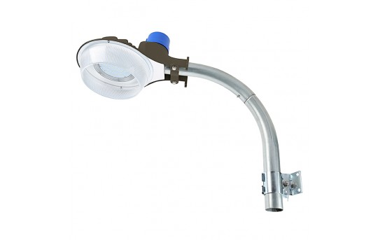 50W LED Dusk-to-Dawn Area Light - 5,000 Lumens - Photocell and Mounting Arm Included - 175W Metal Halide Equivalent - 5000K - DDAL-x