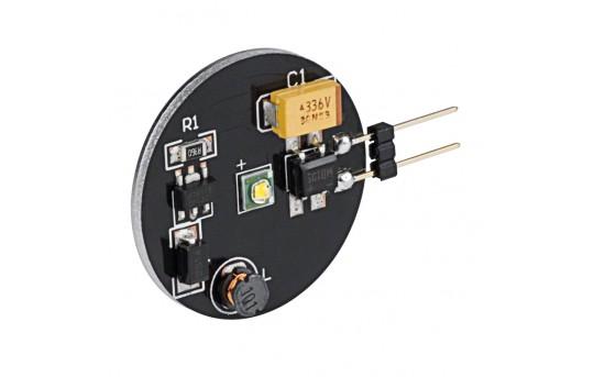 G4 LED Bulb - 1 Watt (15 Watt Equivalent) Bi-Pin LED Disc - White