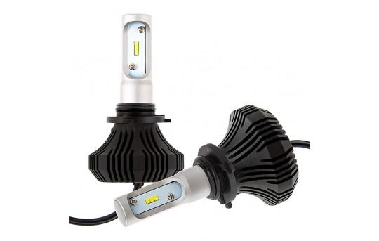 9006 LED Fanless Headlight/Fog Light Conversion Kit with Internal Drivers - 4,000 Lumens/Set - 9006-HLV4