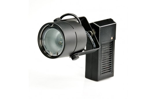 LED Track Light Fixture - Black - LED-TLF-DI