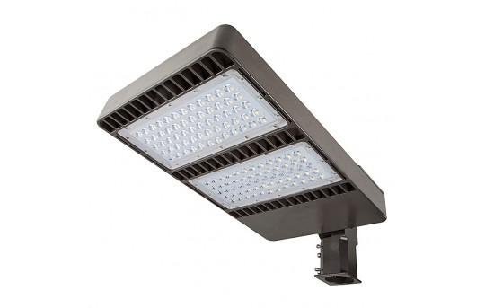 LED Parking Lot Light - 200W (750W MH Equivalent) LED Shoebox Area Light - 5000K/3000K - 23,700 Lumens - APL-x200