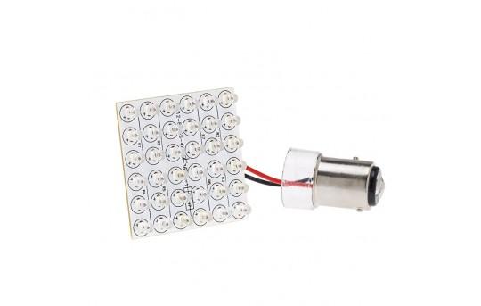 1157 LED Bulb - Dual Function 36 LED PCB Lamp - BAY15D Retrofit - 1157-PCB-x36-CAR