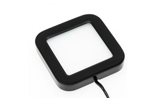 Plug and Play Surface Mount Square LED Puck Light Fixture - SSM series  - SSM-x3x