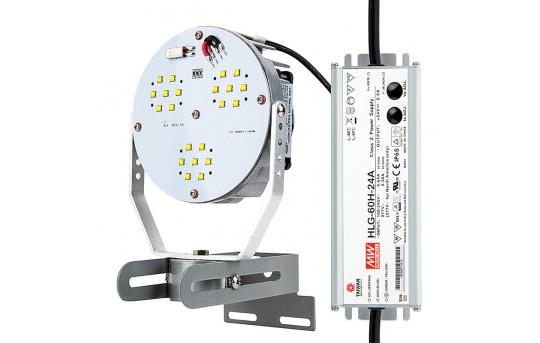 45W LED Retrofit Kit for 100W MH Fixtures - 5,300 Lumens - 5000K - LRK-50K45W