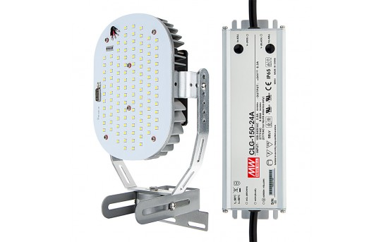 100W LED Retrofit Kit for 250W MH Fixtures - 12,700 Lumens - 5000K - LRK-x100W