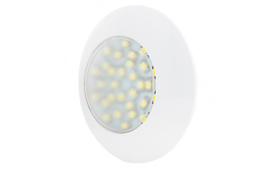 "3.25"" Round LED Dome Light Fixture - 30 Watt Equivalent - 130 Lumens - TDL-W30"