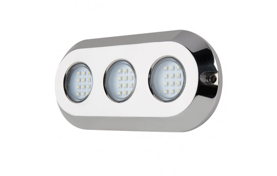 LED Underwater Pool Lights and Pond Lights - Triple Array - 180W - 6,750 Lumens - UBL-x180-LAN