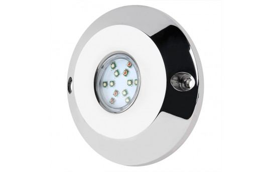 RGB LED Underwater Boat Lights and Dock Lights - Single Array - 60W - 800 Lumens - UBL-RGB60
