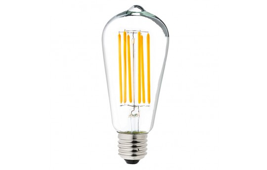 ST18 LED Filament Bulb - 40 Watt Equivalent Vintage Light Bulb - Dimmable - 537 Lumens - ST18D-x9DF