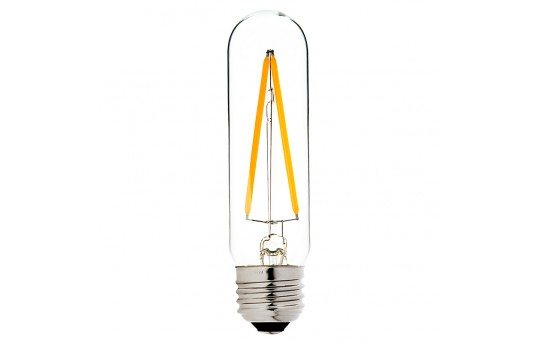 T10 LED Filament Bulb - 20 Watt Equivalent Vintage Light Bulb - Radio Style - Dimmable - 177 Lumens - T10D-x2DF