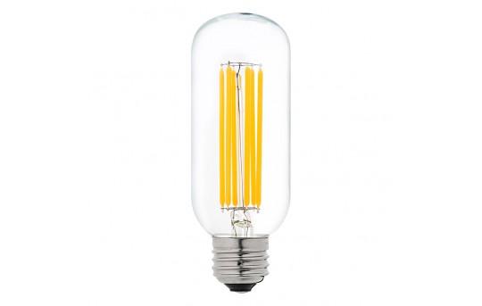 T14 LED Filament Bulb - 60 Watt Equivalent Vintage Light Bulb - Radio Style - Dimmable - 780 Lumens - T14D-WW6DF