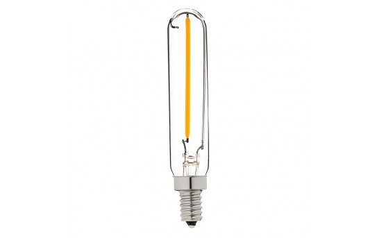 T6 LED Filament Bulb - 15 Watt Equivalent Candelabra LED Bulb - Radio Style - Dimmable - 106 Lumens - T6D-x1DF-E12