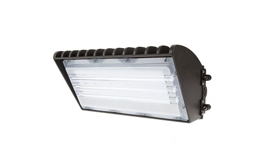 70W Semi Cutoff LED Wall Pack - 8,200 Lumens - 320W Metal Halide Eqivalent - 5000K/4000K - Part Number: WPSC-x70