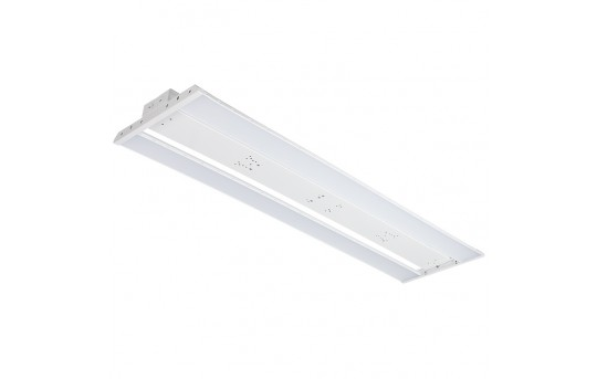 100W LED Linear High Bay Light - 13,600 Lumens - 4' - 250W Metal Halide Equivalent - 5000K - LHBD-50KF4-100