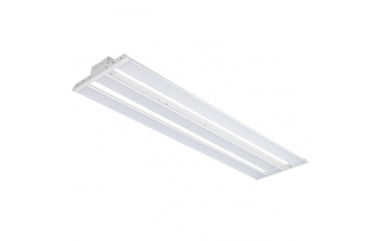 150W LED Linear High Bay Light - 4-Lamp T5HO/7-Lamp T8 Equivalent - 19,650 Lumens - 5000K - LHBD-50KF4-150