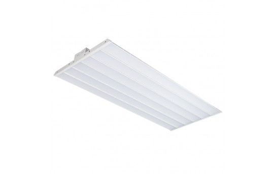 300W LED Linear High Bay Light - 8-Lamp T5HO/14-Lamp T8 Equivalent - 41,400 Lumens - 5000K - LHBD-50KF4-300
