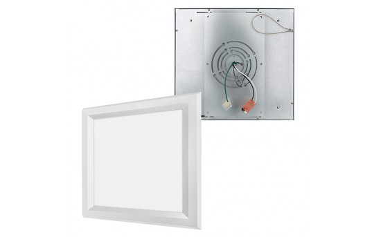 Flush Mount LED Panel Light - 1x1 - 1,800 Lumens - 18W Dimmable Even-Glow® Light Fixture - LPD-x11-18