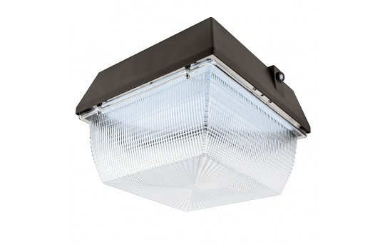 Photocontrol LED Canopy Light and Parking Garage Light - 100W - 4000K - 175W MH Equivalent - 9,000 Lumens - LS-CP100W-Sx