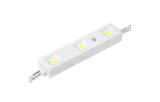 Single Color LED Module - Linear Sign Module w/ 3 SMD LEDs - 57 Lumens/Module - LSM-x3X3