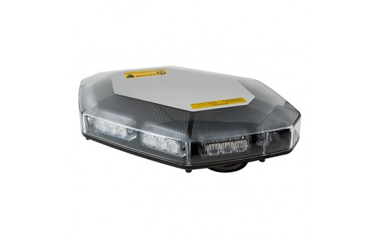 Magnetic Mounted Emergency LED Light Bar with Toggle Adapter - 360 Degree Strobing LED Mini Lightbar - STMB-x30-MB