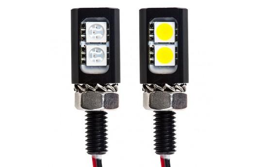 Miniature LED License Plate Bolt - Stud Mount - MAL-2