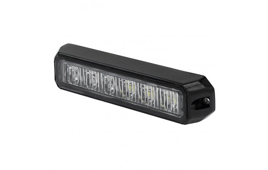 Two-Color Vehicle LED Mini Strobe Light Head - Built-In Controller - 18 Watt - Surface Mount - P-STRB-x18