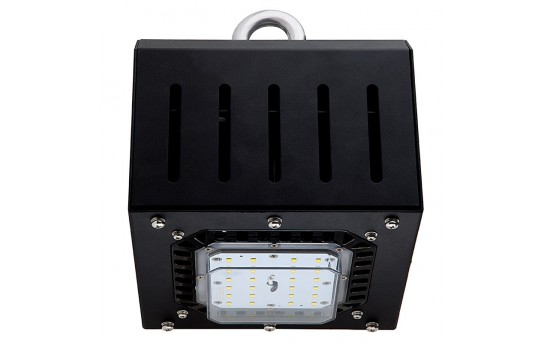 Modular LED Floodlight with I-Hook Mount - 50W - 5000K - 100 Watt MH Equivalent - 4,200 Lumens - MD-50W-IH