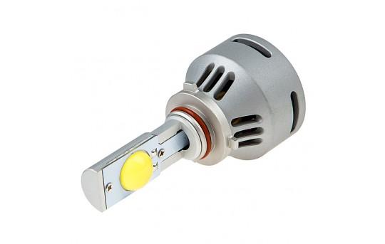 Motorcycle LED Headlight Conversion Kit - 9005 LED Headlight Bulb Conversion Kit - 9005-HLV1-M