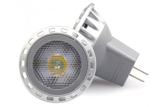 MR11 LED Bulb - 10 Watt Equivalent - Bi-Pin LED Spotlight Bulb - MR11-xW1SMD-30-HH