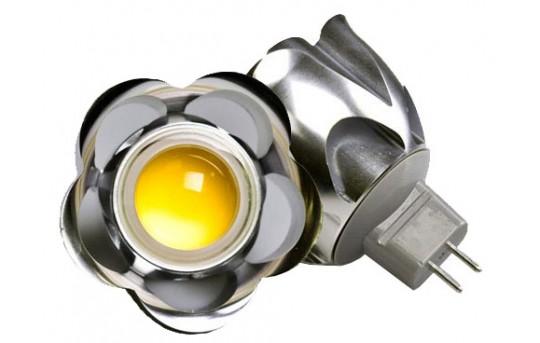 MR16 LED Landscape Light Bulb - 1 LED Spotlight Bi-Pin Bulb - 150 Lumens - MR16-x5W-x80-LAN