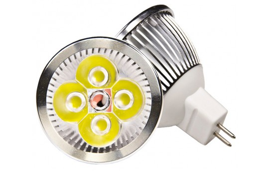 4 Watt MR16 LED bulb - MR16-xW4W-x-HH