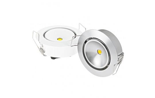 1 Watt LED Aimable Downlight Kit - 6 Piece - MRLA-NW1W-6KIT