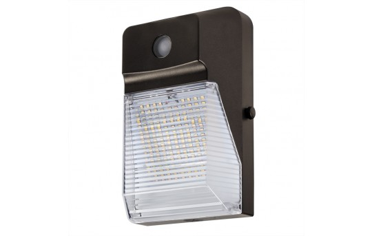 20W LED Mini Wall Pack with Photocell - 2300 Lumens - 70W Metal Halide Equivalent - 5000K/4000K - MWP-x20-S