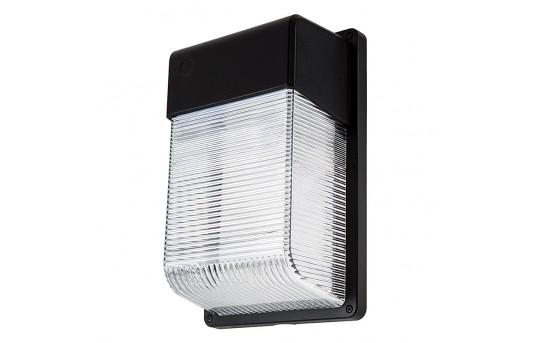 28W LED Mini Wall Pack - 2,100 Lumens - 70W Metal Halide Equivalent - 5000K/4000K - MWP-xK28