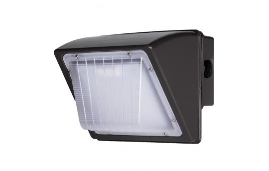 48W Small LED Wall Pack - 5,100 Lumens - 250W Metal Halide Equivalent - 4000K - MWP2-40K48