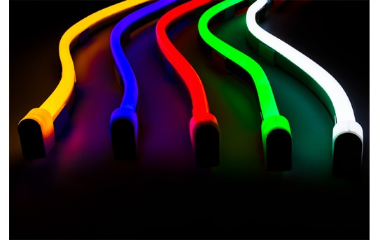 Flexible LED Neon Rope Lights - Neon Strip Lights - Dimmable - NF-x30-CL