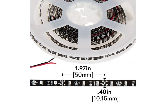 LED Light Strips - LED Tape Light with 18 SMDs/ft., 1 Chip SMD LED 3528 - NFLS-x