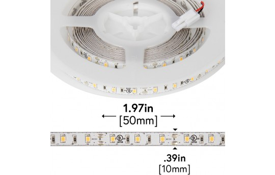 High CRI LED Strip Light - 12V LED Tape Light w/ LC2 Connector - 221 Lumens/ft. - NFLS-xX2-LC2