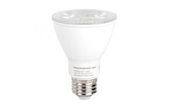 PAR20 LED Bulb - 60 Watt Equivalent - Dimmable LED Spotlight Bulb - 600 Lumens - PAR20D-x7